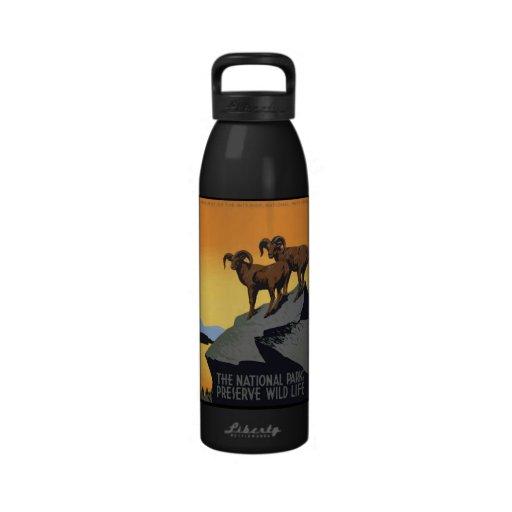 National Parks Preserve Wild Life Drinking Bottle