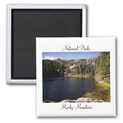 National Parks - Rocky Mountain Magnet