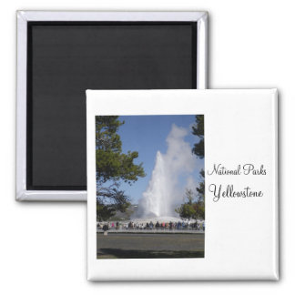 National Parks - Yellowstone Magnet