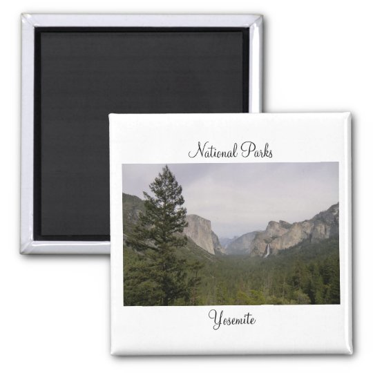 National Parks - Yosemite Magnet