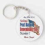 National Pearl Harbor Day Acrylic Keychain