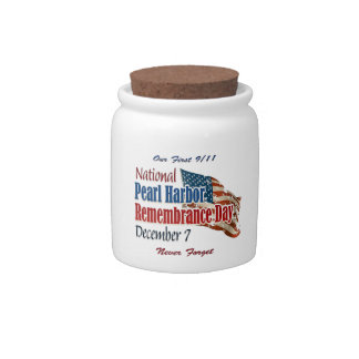 National Pearl Harbor Day Candy Jars