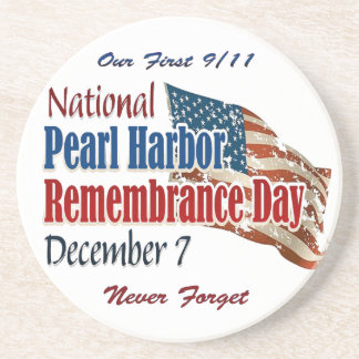 National Pearl Harbor Day Drink Coaster