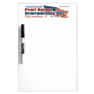 National Pearl Harbor Day Dry Erase Board