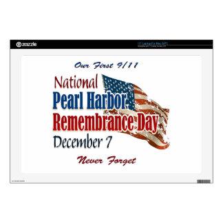National Pearl Harbor Day Laptop Skin