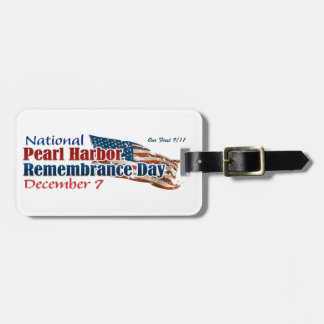 National Pearl Harbor Day Travel Bag Tags