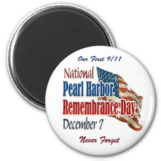 National Pearl Harbor Day Magnet