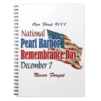 National Pearl Harbor Day Notebook