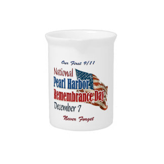 National Pearl Harbor Day Pitcher