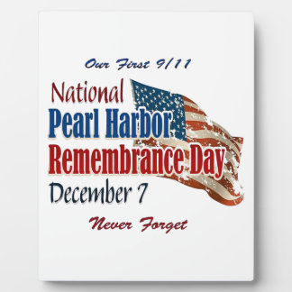 National Pearl Harbor Day Plaque