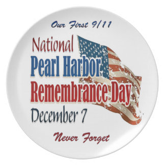 National Pearl Harbor Day Plate