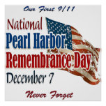 National Pearl Harbor Day Poster