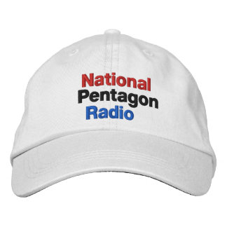 National Pentagon Radio Embroidered Baseball Hat