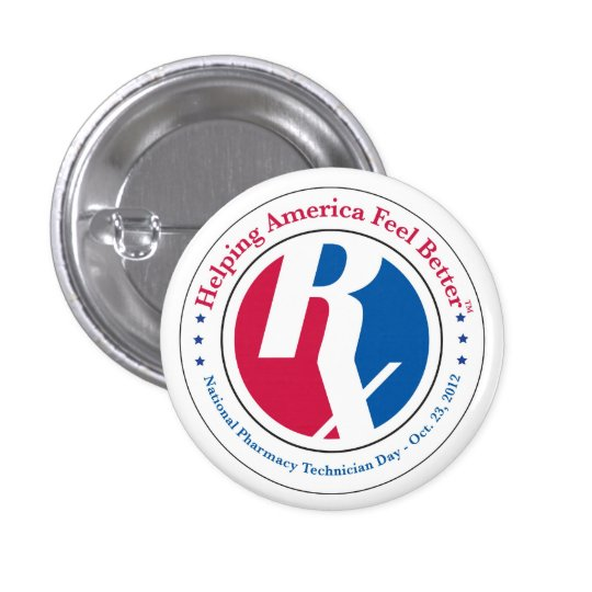 National Pharmacy Technician Day 2012 Button