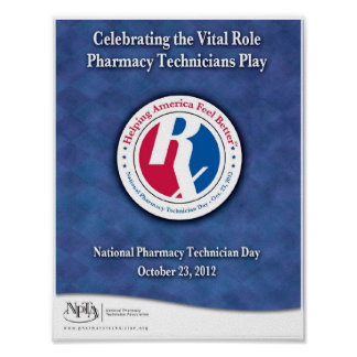 National Pharmacy Technician Day 2012 Poster