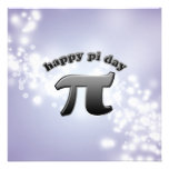National Pi Day Pi Symbol for Math Nerds March 14 Invite