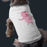 """National Pig Day March 1st Shirt<br><div class=""""desc"""">This cute little piggie can help you celebrate National Pig Day or any other day for that matter.  Add your own text or message to make your pig item truly unique.</div>"""