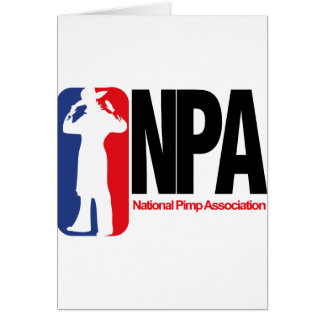 National Pimp Association Card