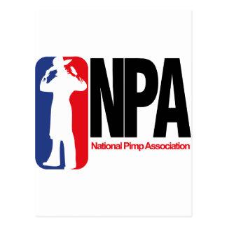 National Pimp Association Postcard