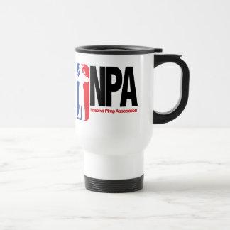 National Pimp Association Travel Mug
