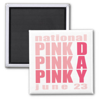 National Pink Day Magnets