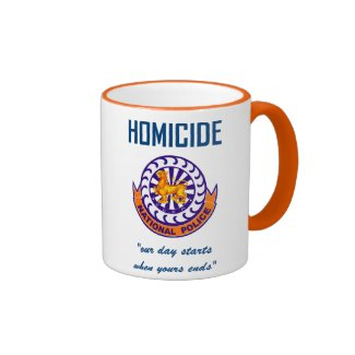 National Police Homicide Mug