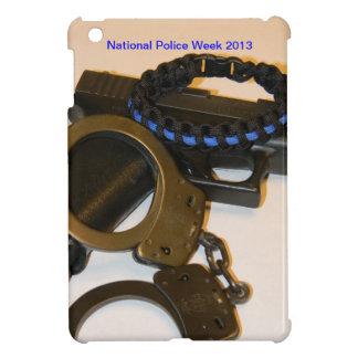 National Police week Thin Blue line hard ipad case