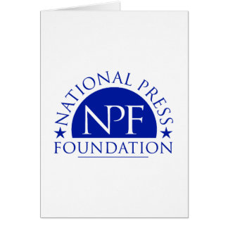 National Press Foundation Gift Package Card