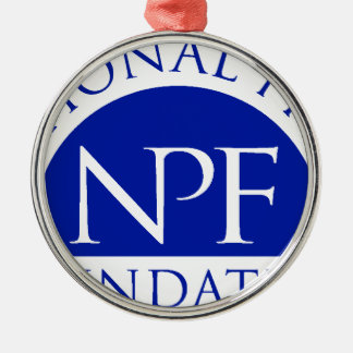 National Press Foundation Gift Package Metal Ornament