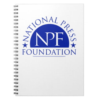National Press Foundation Gift Package Notebooks