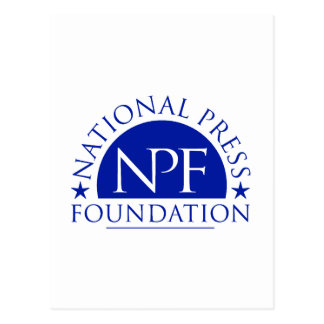 National Press Foundation Gift Package Postcard