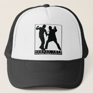 NATIONAL PUNCH A SUIT DAY TRUCKER HAT