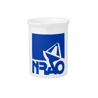 National Radio Astronomy Observatory Beverage Pitcher