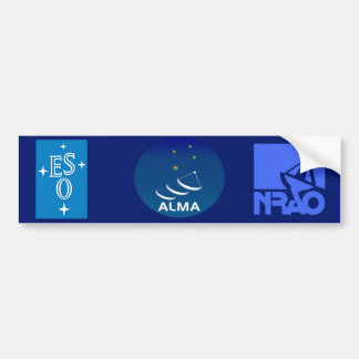 National Radio Astronomy Observatory Bumper Sticker