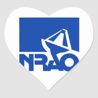 National Radio Astronomy Observatory Heart Sticker