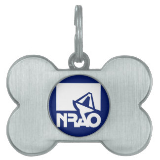 National Radio Astronomy Observatory Pet Tag
