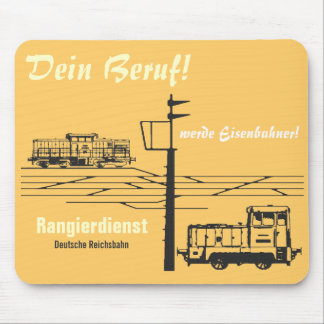 National Railroad GDR Mouse Pad