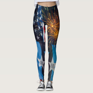 National Remembrance Grouping Leggings