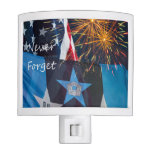 National Remembrance Never Forget Night Light