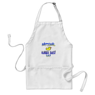 National Rubber Ducky Day Adult Apron