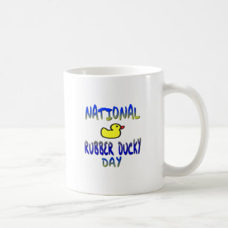 National Rubber Ducky Day Classic White Coffee Mug