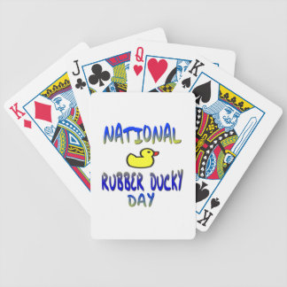 National Rubber Ducky Day Deck Of Cards