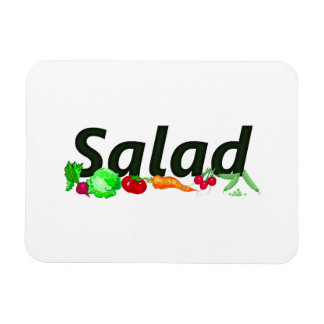 National Salad Month Rectangular Photo Magnet