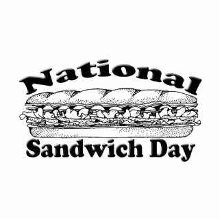 National Sandwich Day Photo Cut Outs