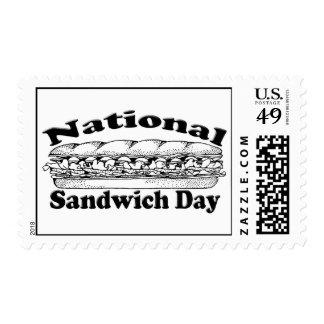 National Sandwich Day Postage