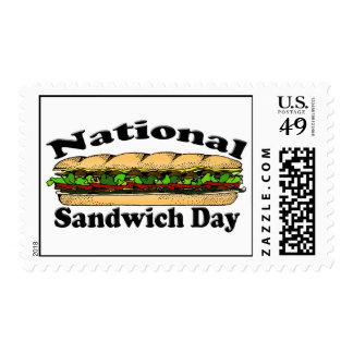 National Sandwich Day Postage Stamp