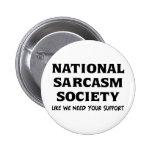 National Sarcasm Button