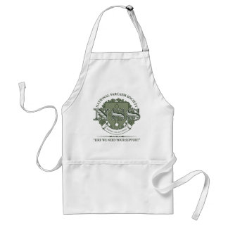 National Sarcasm Society Adult Apron