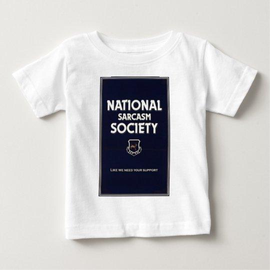 National-Sarcasm-Society Baby T-Shirt