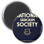 National-Sarcasm-Society Fridge Magnets